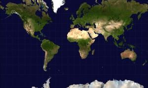 Mercator-Mapamundi